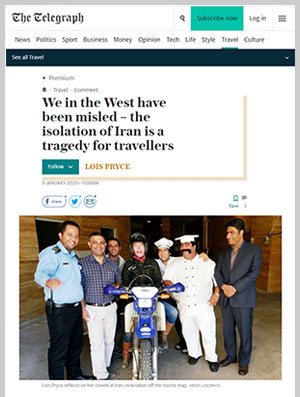 We in the West have been misled – the isolation of Iran is a tragedy for travellers