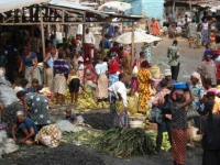 Market day in Matadi, DRC