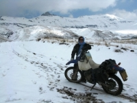 Crossing the Alborz Mountains