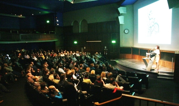 Speaking at the Royal Geographical Society in London