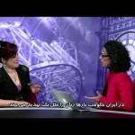Being interviewed on Voice of America Persian